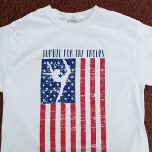 Tumble for Troops T-shirt
